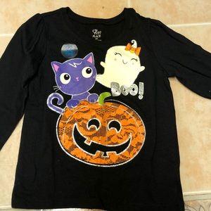 Children's place girls Halloween shirt 4T NWOT